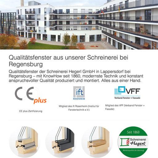 Website Fenster Schreinerei Hegerl typo3