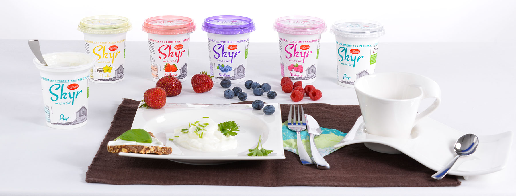 Food Fotografie Joghurt/Skyr, Frucht