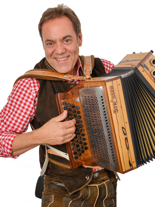 Portraitfotografie Musiker Harmonika