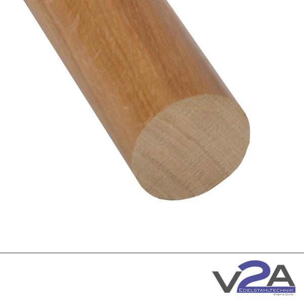 Produktfotografie Holzhandlauf rund Eiche