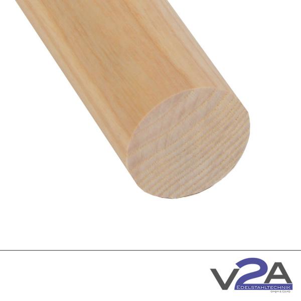 Produktfotografie Holzhandlauf rund Esche