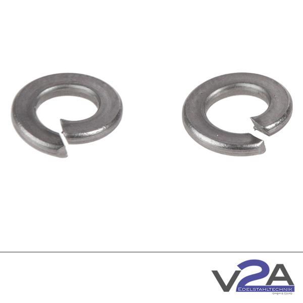 Produktfotografie V2A-Federringe