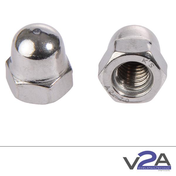 Produktfotografie V2A-Hutmuttern