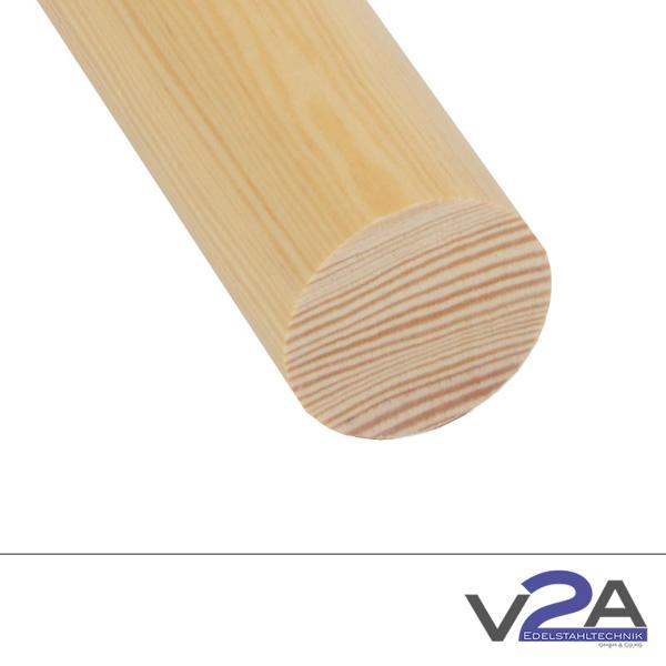 Produktfotografie Holzhandlauf rundKiefer
