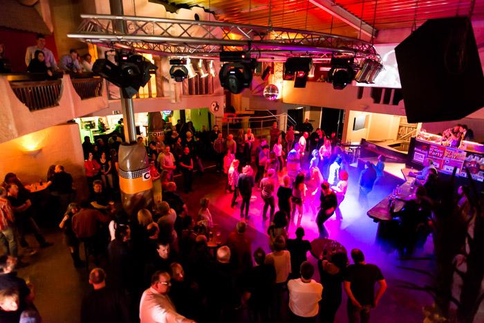 Veranstaltungsfotografie Discothek Tanzfläche