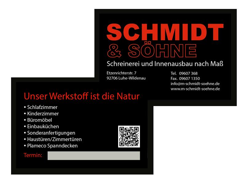 Visitenkarte Schmidt-Soehne