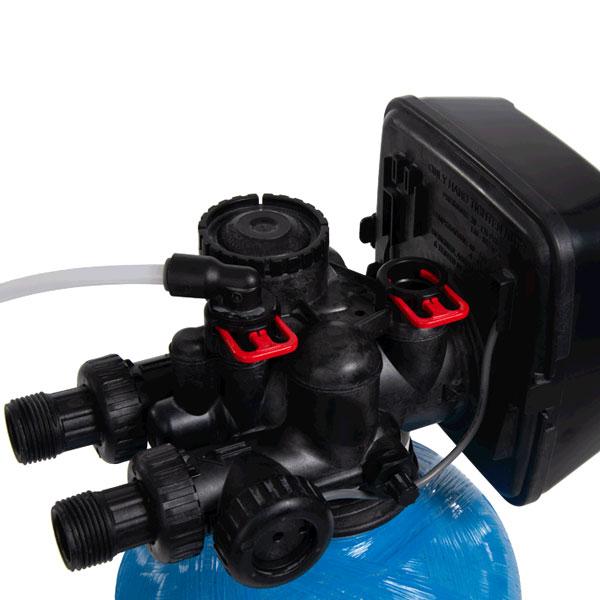 Produktfotografie Wasserenthärtungsanlage Steuerung
