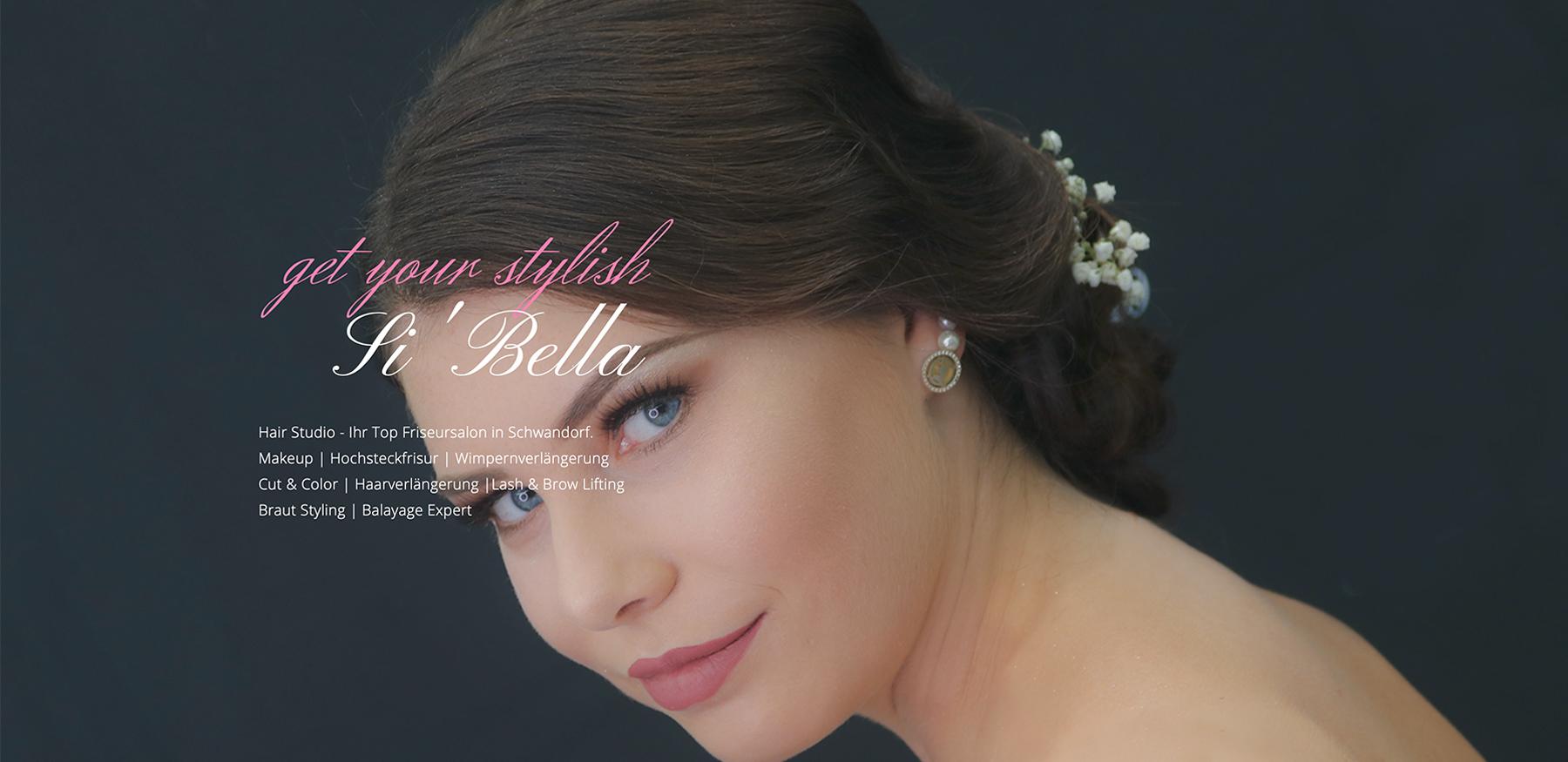 Website Si Bella Hair Studio   softintelli IT Medien